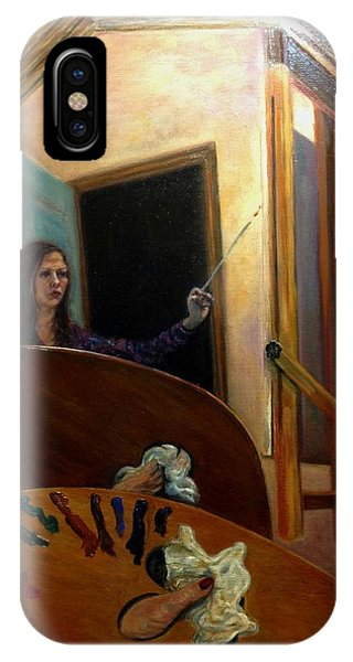 Portrait Of The Artist IPhone Case