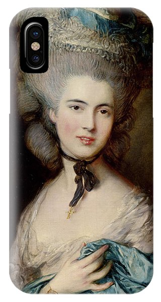 Portrait Of The Duchess Of Beaufort IPhone Case