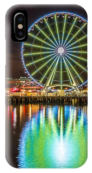Portrait Of The Great Wheel IPhone Case