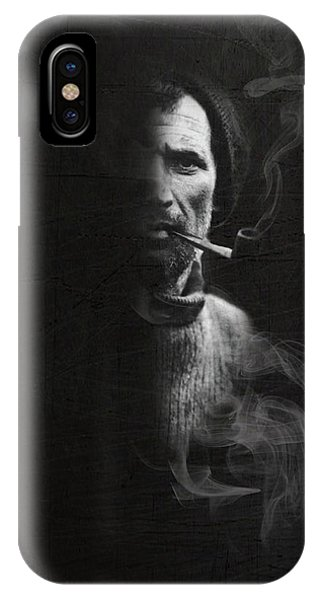 Portrait Of Tom Crean Antarctic Explorer IPhone Case