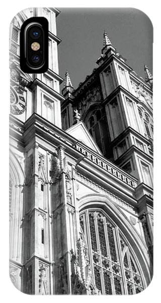 Portrait Of Westminster Abbey IPhone Case