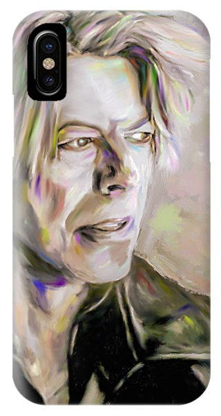 Portrait Of Bowie IPhone Case