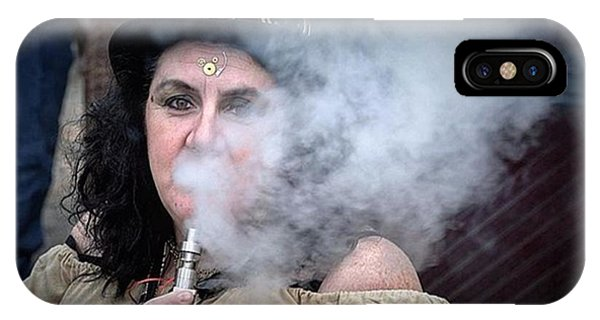 Steampunk iPhone Case - #portrait #portraitphotography #nikon by Derrick Gillwood