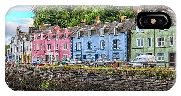 Portree Town On Skye, Scotland IPhone Case