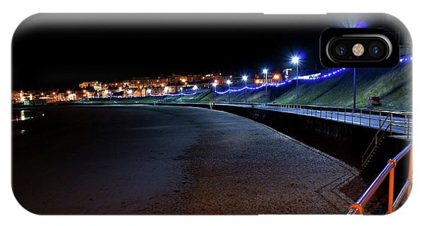 Portrush Seafront At Night IPhone Case
