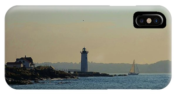 iPhone Case - Portsmouth Harbor Lighthouse by Red Cross