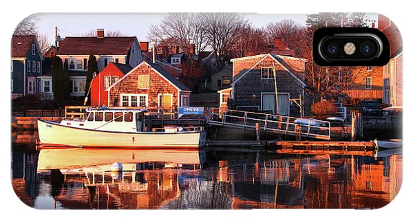 Portsmouth South End Sunrise IPhone Case