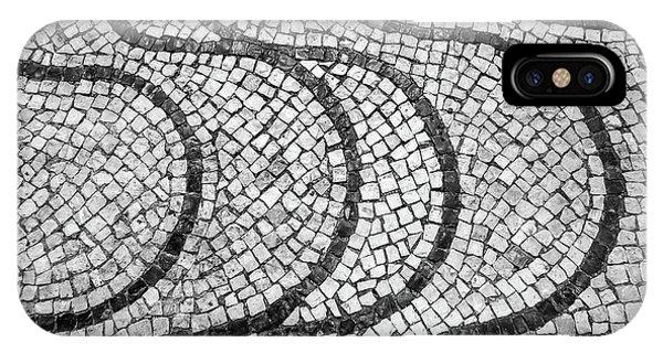 Portuguese Pavement Patterns In Cascais IPhone Case