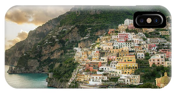 Positano Sunset IPhone Case