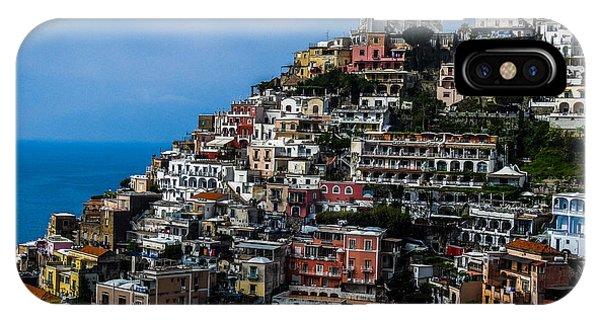 Positano's Terraced Landscape IPhone Case