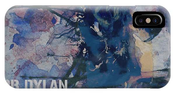 Bob Dylan iPhone Case - Positively 4th Street by Paul Lovering