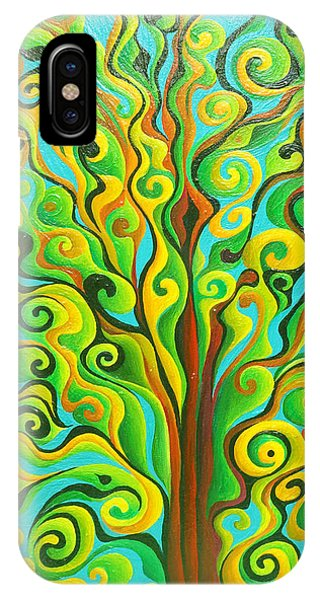 Positronic Spirit Tree IPhone Case