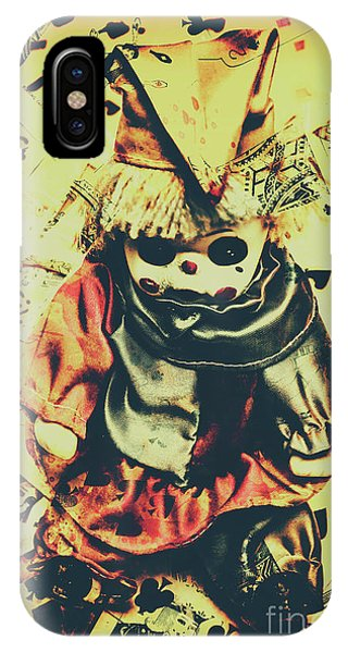Sinister iPhone Case - Possessed Vintage Horror Doll  by Jorgo Photography - Wall Art Gallery