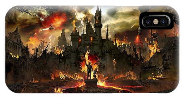 Post Apocalyptic Disneyland IPhone Case