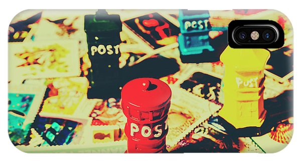 Pendant iPhone Case - Postage Pop Art by Jorgo Photography - Wall Art Gallery