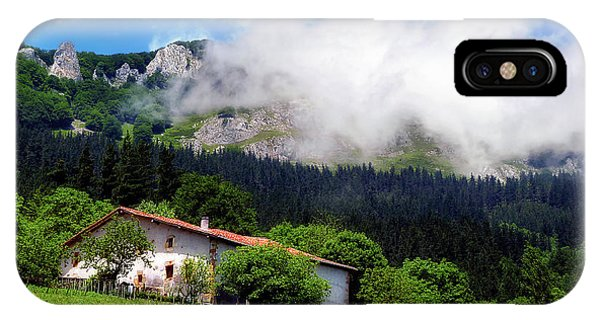 Postcard From Basque Country IPhone Case