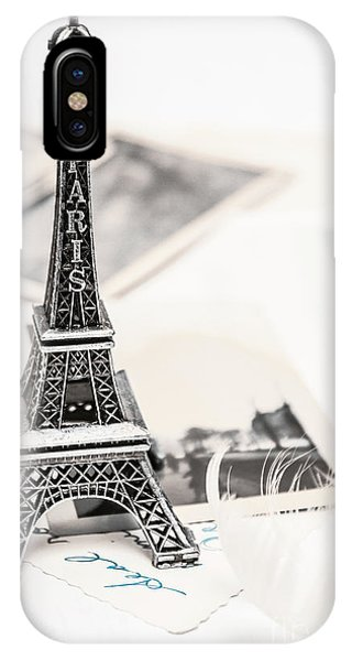 French iPhone Case - Postcards And Letters From Paris by Jorgo Photography - Wall Art Gallery