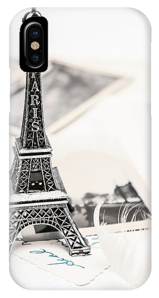 Postcards And Letters From Paris IPhone Case