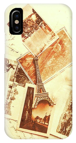 Paris iPhone Case - Postcards And Letters From The City Of Love by Jorgo Photography - Wall Art Gallery
