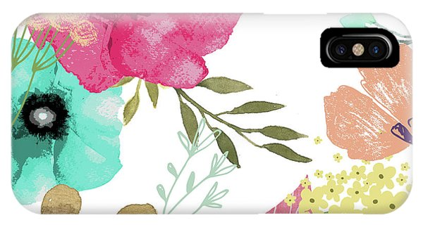 Pattern iPhone Case - Posy by Mindy Sommers