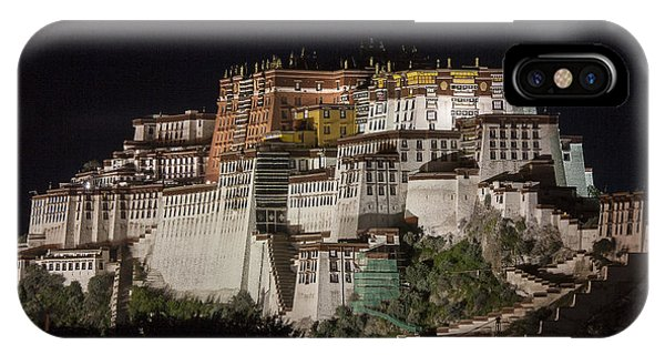 Potala Palace At Night IPhone Case