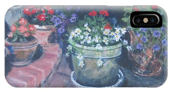 Potted Flowers IPhone Case