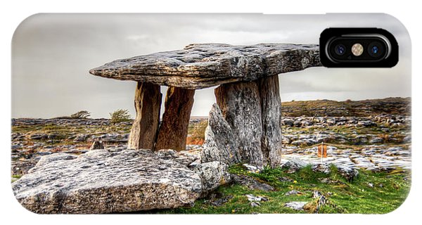 Poulnabrone Dolmen IPhone Case