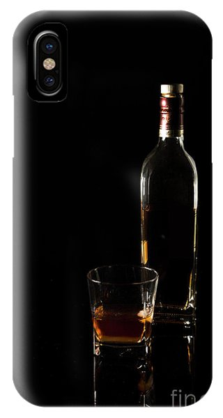 Whiskey iPhone Case - Pour Me A Glass by Evelina Kremsdorf