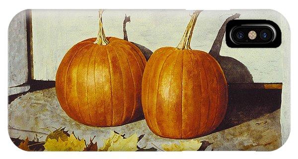 Povec's Pumpkins IPhone Case