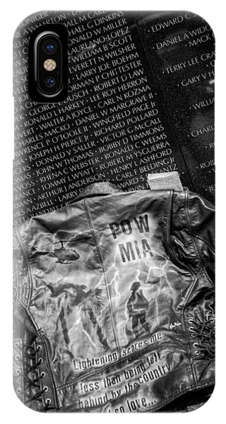 Pow Mia Never Forget IPhone Case
