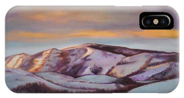 Powder Mountain IPhone Case