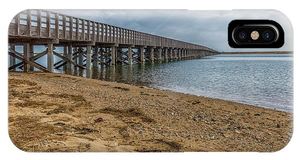 Powder Point Bridge IPhone Case