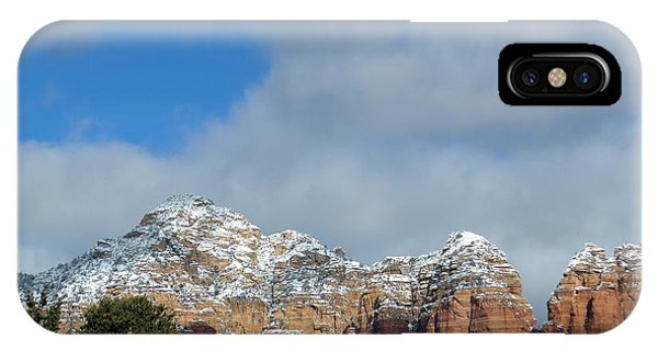 Powdered Sugar Sedona Red Rocks IPhone Case