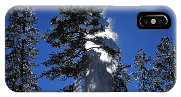 Powderfall IPhone Case