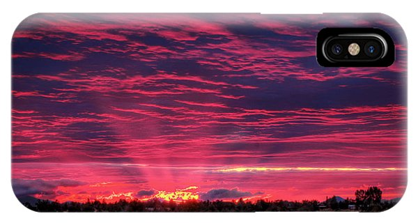 Powell Butte Oregon Sunset IPhone Case