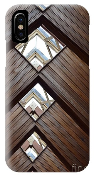 Powell Gardens Chapel Ceiling IPhone Case