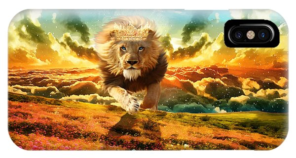 Power And Glory IPhone Case