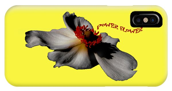 Power Flower Anemone IPhone Case