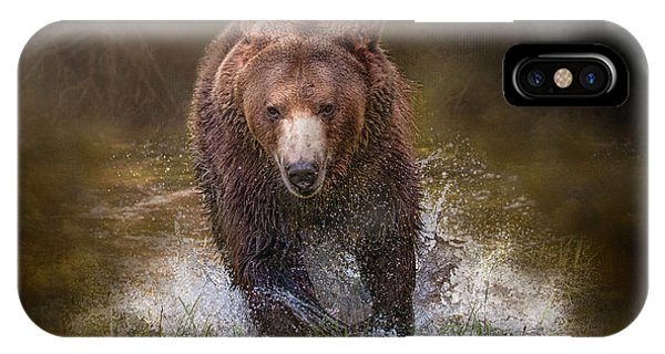 Power Of The Grizzly IPhone Case