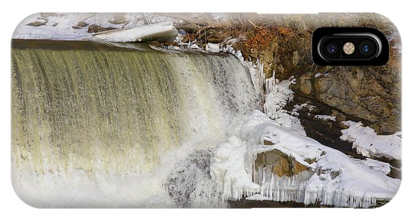 Power Station Falls On Black River Three IPhone Case