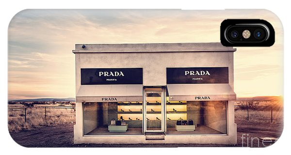 Prada Store IPhone Case