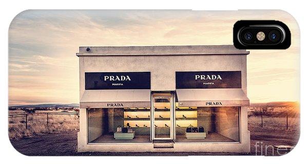 Prada Store IPhone Case