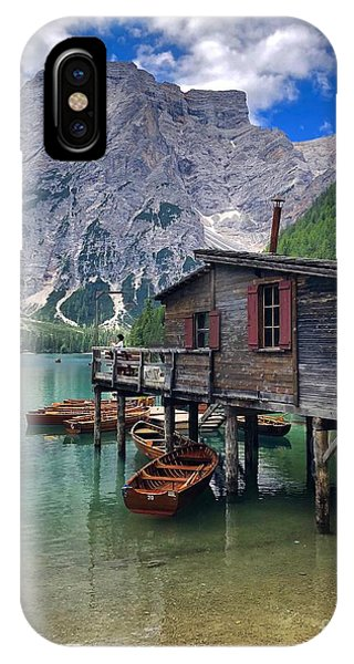 Pragser Wildsee View IPhone Case