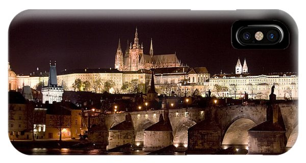 Prague Castle IPhone Case
