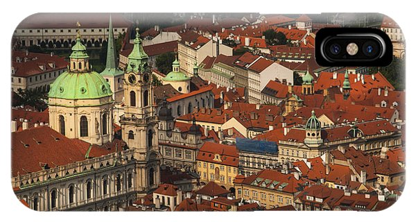 Prague From Above IPhone Case