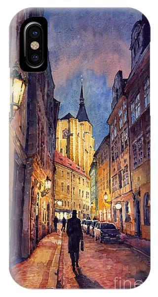 Prague Husova Street IPhone Case