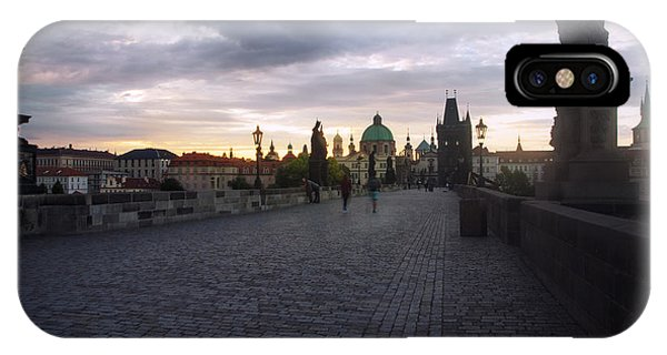 Prague Morning IPhone Case