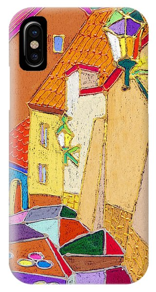 Pastel iPhone Case - Prague Old Street Ceminska Novy Svet by Yuriy Shevchuk