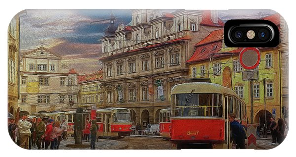 Prague, Old Town, Street Scene IPhone Case