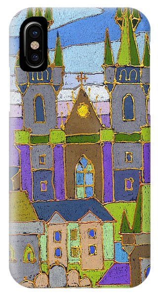 Pastel iPhone Case - Prague Panorama by Yuriy Shevchuk